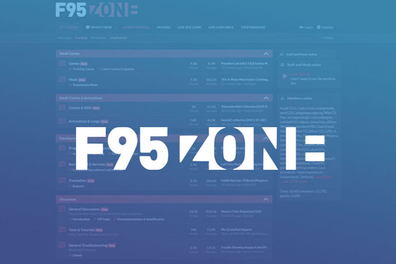 F95Zone: Top 11 Games on F95 Zone Lovers (Updated: 2021)